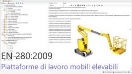 Testo Requisiti EN 280 Piattaforme di lavoro mobili elevabili - Ed. 2009