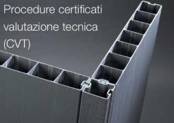 Procedure certificati valutazione tecnica (CVT)