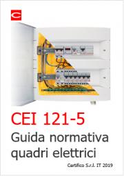 Guida normativa quadri elettrici | CEI 121-5