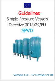 Guidelines simple Pressure Vessels Directive 2014/29/EU (SPVD)