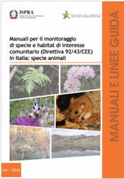 Manuale monitoraggio specie animali in Italia