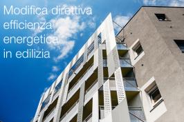 Modifica direttiva Efficienza energetica in edilizia