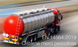 UNI EN 14564:2019 Cisterne trasporto di merci pericolose - Terminologia