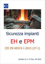 Sicurezza impianti EH e EPM | EN 60519-1
