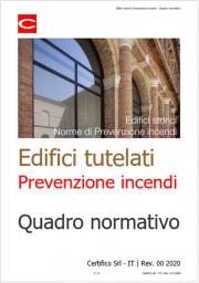 Edifici tutelati: Norme di Prevenzione incendi
