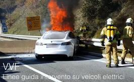 Linee guida in caso di intervento su veicoli elettrici