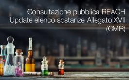 Consultazione pubblica REACH | Update elenco sostanze Allegato XVII