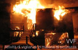 VVF: attività di vigilanza in materia di sicurezza