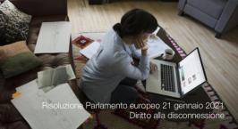 Risoluzione Parlamento europeo 21 gennaio 2021 - 2019/2181(INL)