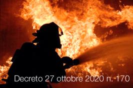 Decreto 27 ottobre 2020 n. 170
