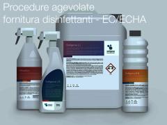 Procedure agevolate per la fornitura dei disinfettanti - EC/ECHA