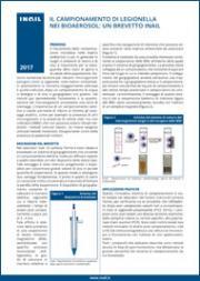 Il campionamento di legionella nei bioaerosol: un brevetto Inail