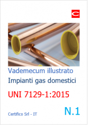 Vademecum Impianti a gas uso domestico N. 1 | UNI 7129-1:2015