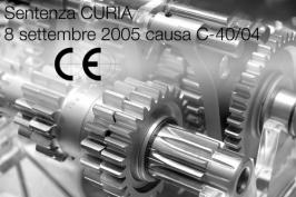 Sentenza CURIA 8 settembre 2005 causa C-40/04