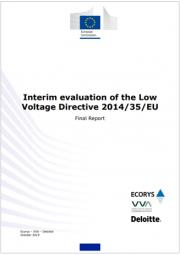 Interim evaluation of the Low Voltage Directive 2014/35/EU