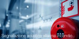 Segnalazione acustica allarme incendio: la norma UNI in arrivo
