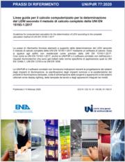 UNI/PdR 77:2020 | Linee guida determinazione del LENI