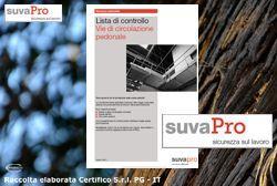 Sicurezza SUVAPRO: Raccolta Liste di Controllo Agg. 09.2014