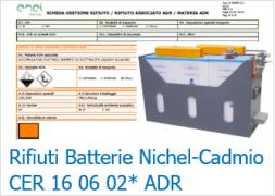 Rifiuti Batterie Nichel-Cadmio ADR