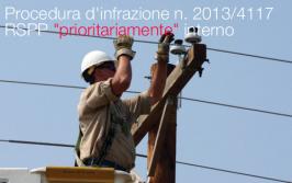 Procedura d'infrazione n. 2013/4117 del 26 giugno 2013