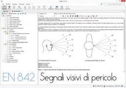 EN 842:2008 Segnali visivi di pericolo - Requisiti generali, progettazione e prove
