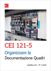 Guida pratica Organizzare la Documentazione Quadri elettrici | CEI 121-5