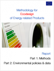 Methodology for Ecodesign of Energy‐related Products