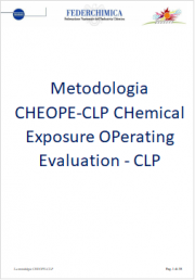 La Metodologia CHEOPE-CLP VR chimico