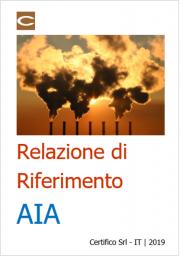 Relazione di riferimento AIA