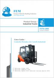 Linea Guida Controllo Periodico dei Carrelli Industriali