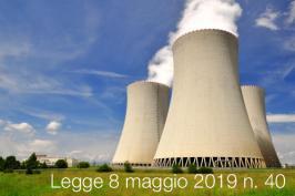 Legge 8 maggio 2019 n. 40