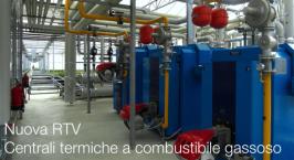 Nuova RTV centrali termiche a combustibile gassoso