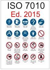 ISO 7010 Raccolta dei Segnali di sicurezza - Ed. 2015