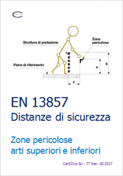 EN 13857 Distanze di sicurezza