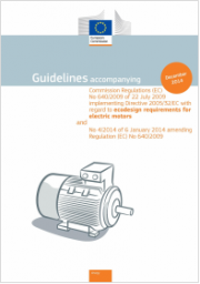 Guidelines ecodesign requirements for Electric Motor