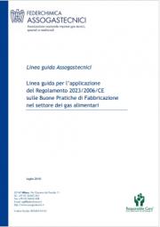 Linea guida per l'applicazione GMP Gas alimentari