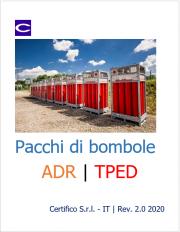 Pacchi di bombole ADR   TPED