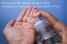 Comunicato Min. Salute  06 aprile 2020