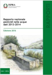 Rapporto nazionale pesticidi nelle acque. Dati 2013-2014