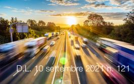 Decreto-Legge 10 settembre 2021 n. 121