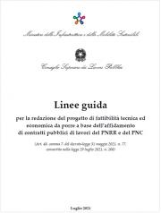 Linee Guida Progetto Fattibilità Tecnico Economica (PFTE)   PNRR e PNC