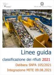 Linee guida SNPA sulla classificazione dei rifiuti 2021