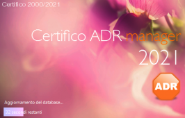Certifico ADR Manager 2021.0.1.2 | Patch Febbraio 2021