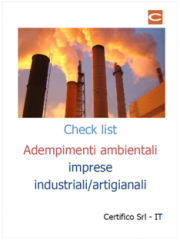 Check list ambiente 2018