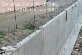 Sentenza Consiglio di Stato n. 212 del 09 gennaio 2020