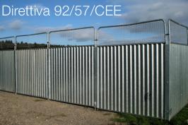 Direttiva 92/57/CEE