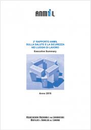 2° rapporto sulla salute e sicurezza nei luoghi di lavoro ANMIL