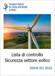 Lista di controllo Sicurezza settore eolico