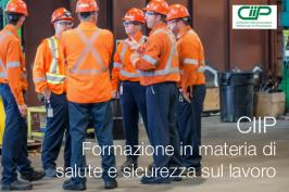 CIIP | Formazione in materia di salute e sicurezza sul lavoro