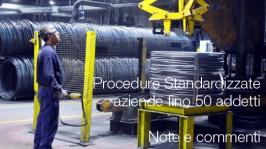 Procedure standardizzate aziende fino a 50 addetti: note e commenti